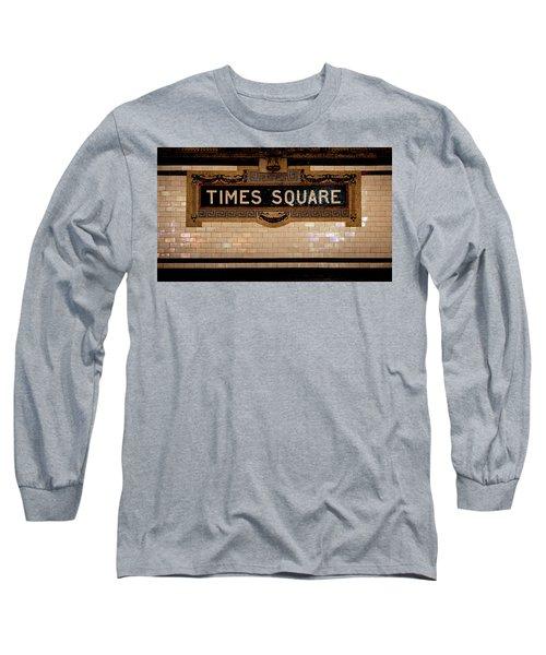 Time Square Long Sleeve T-Shirt