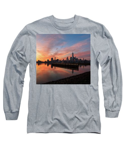 Time To Reflect  Long Sleeve T-Shirt by Anthony Fields