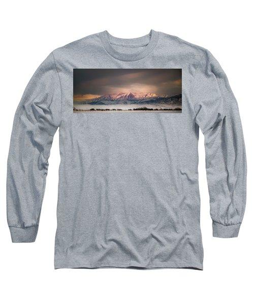 Timpanogos Rising Long Sleeve T-Shirt