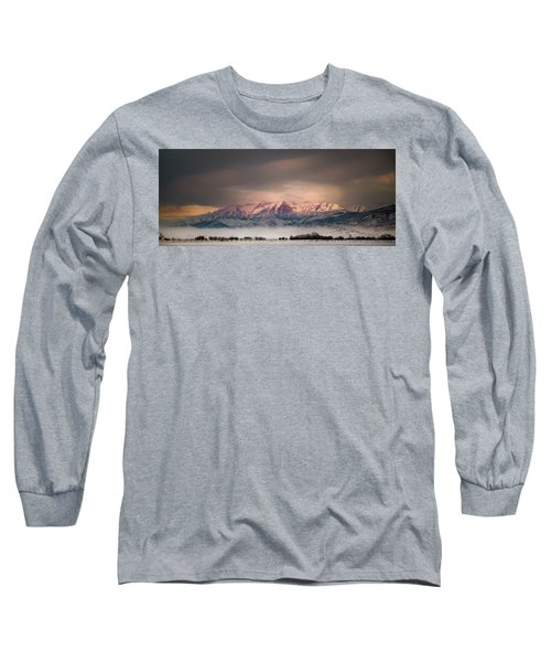 Timpanogos Rising Long Sleeve T-Shirt