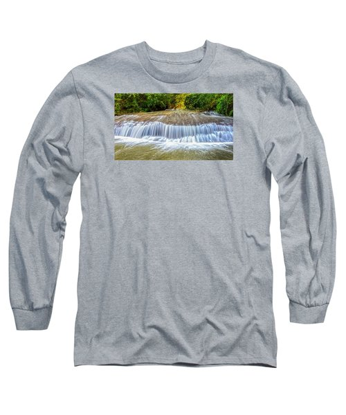 Long Sleeve T-Shirt featuring the photograph Tinton Falls After The Rain by Gary Slawsky