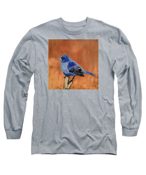 Tiny Blue Long Sleeve T-Shirt