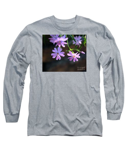 Tiny Pink Flowers Long Sleeve T-Shirt by John S