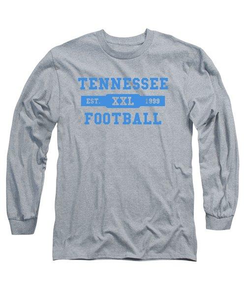 Titans Retro Shirt Long Sleeve T-Shirt by Joe Hamilton