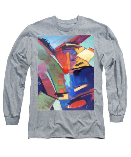 Title? Long Sleeve T-Shirt by Gary Coleman