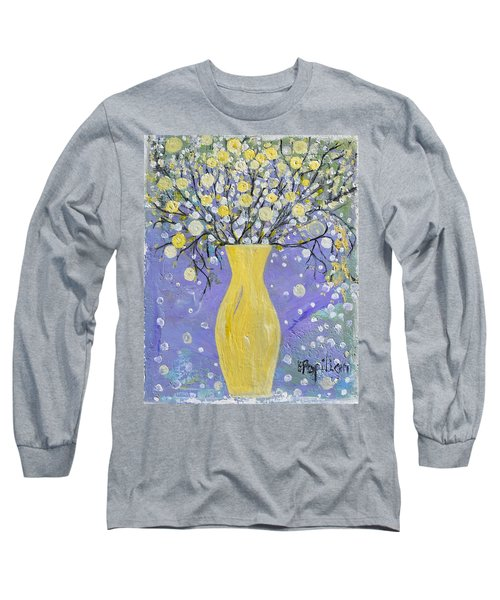 To Brighten Your Evening Long Sleeve T-Shirt by Evelina Popilian