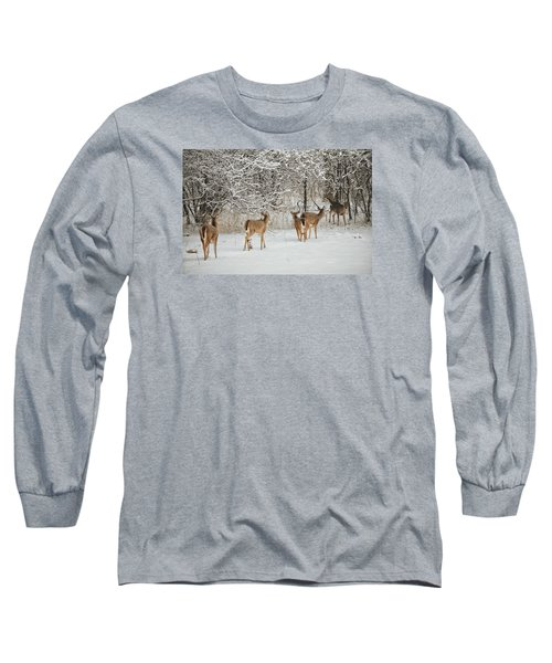 Long Sleeve T-Shirt featuring the photograph To Greet A Friend by Nikki McInnes