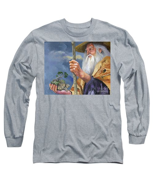 To Hold The World In The Palm Of Your Hand Long Sleeve T-Shirt