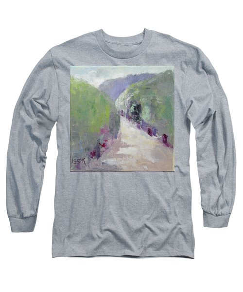 To Mountain Long Sleeve T-Shirt by Becky Kim