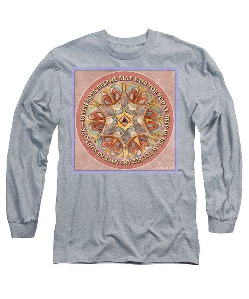 To See As Love Sees Mandala Prayer Long Sleeve T-Shirt