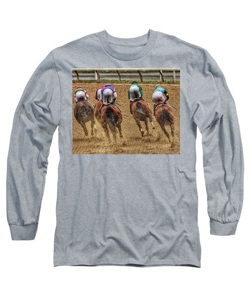 To The Finish Long Sleeve T-Shirt
