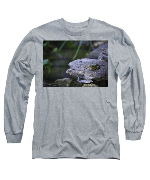 Toading It Up Long Sleeve T-Shirt by Jason Moynihan