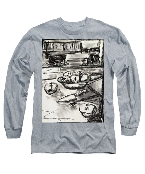 Apples At Breakfast Long Sleeve T-Shirt