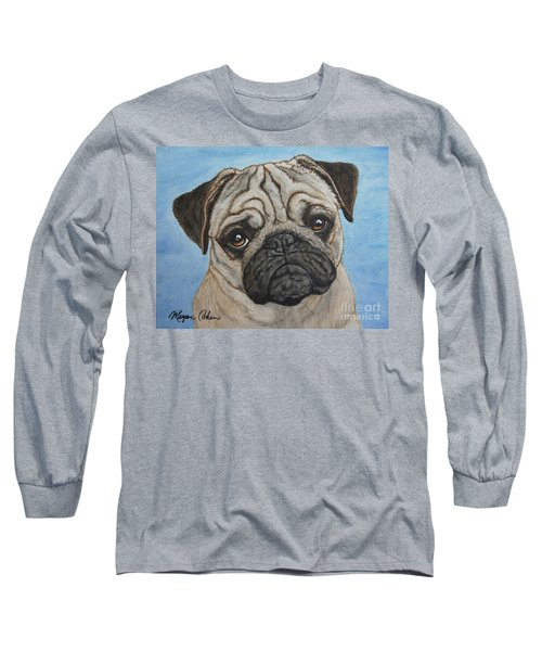 Toby The Pug Long Sleeve T-Shirt