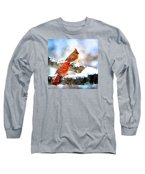 Together In The Snow Long Sleeve T-Shirt