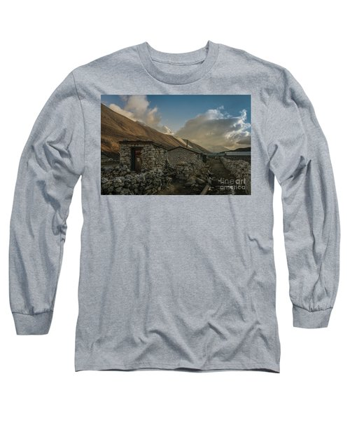 Long Sleeve T-Shirt featuring the photograph Toilet by Mike Reid