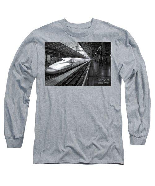 Tokyo To Kyoto, Bullet Train, Japan Long Sleeve T-Shirt
