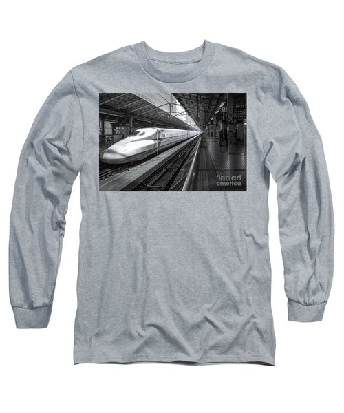 Tokyo To Kyoto, Bullet Train, Japan Long Sleeve T-Shirt