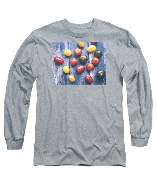 Tomato Medley  Long Sleeve T-Shirt by Nicole English