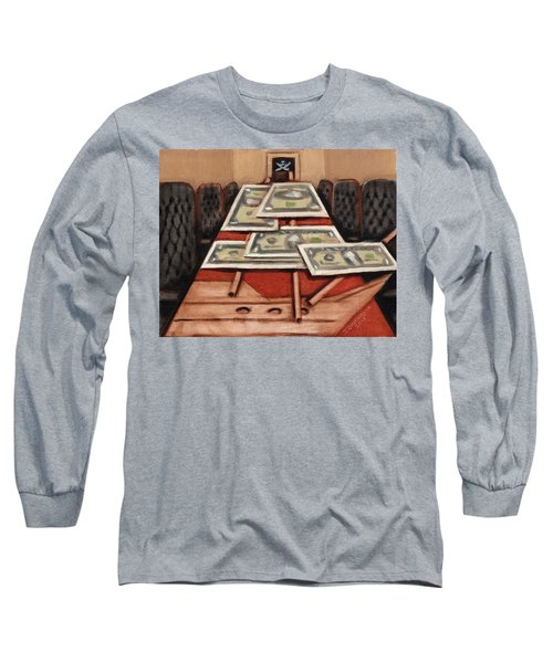 Tommervik War Strategies Pirate Ship Art Print Long Sleeve T-Shirt