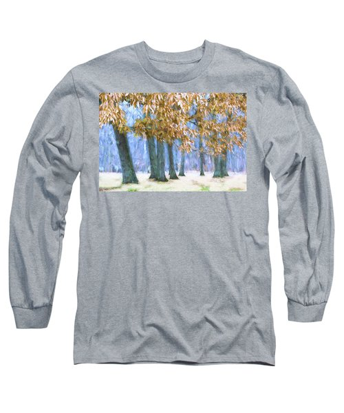 Tones Of Winter Long Sleeve T-Shirt
