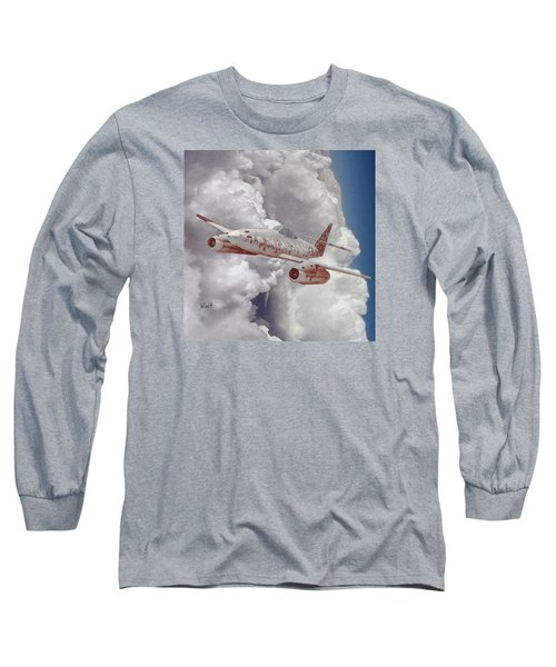 Long Sleeve T-Shirt featuring the digital art Too Little, Too Late by Walter Chamberlain