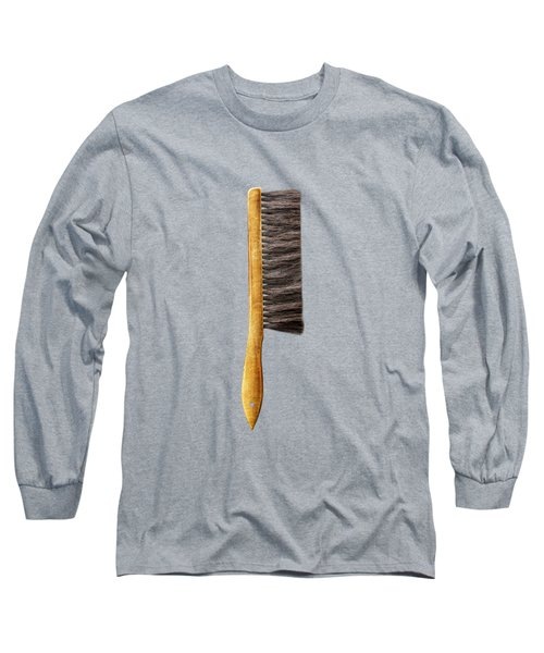 Tools On Wood 52 On Bw Long Sleeve T-Shirt by YoPedro