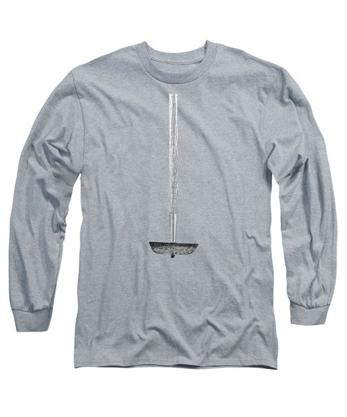 Tools On Wood 55 In Bw Long Sleeve T-Shirt