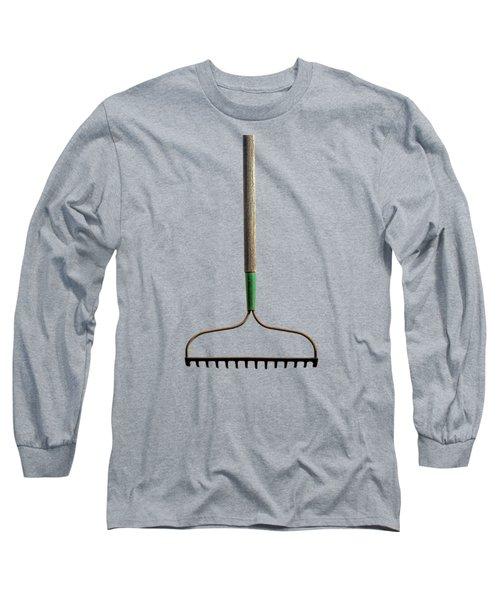 Tools On Wood 8 On Bw Long Sleeve T-Shirt