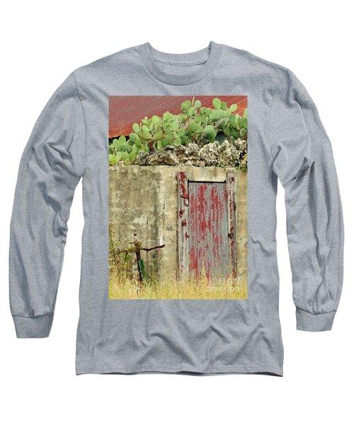 Long Sleeve T-Shirt featuring the photograph Top Heavy by Joe Jake Pratt