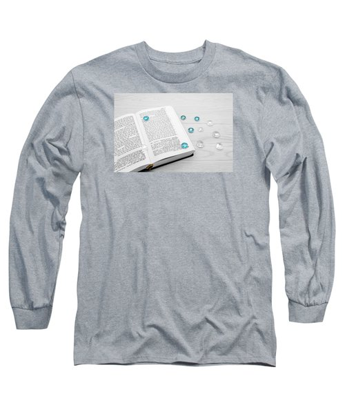 Torah Book And Precious Stones Long Sleeve T-Shirt