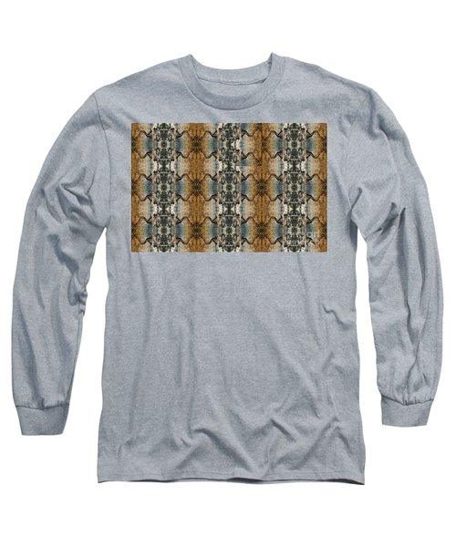 Tornado Pattern Long Sleeve T-Shirt