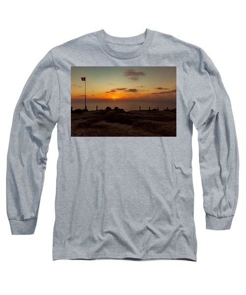 Torrey Pine Glider Port Sunset Long Sleeve T-Shirt