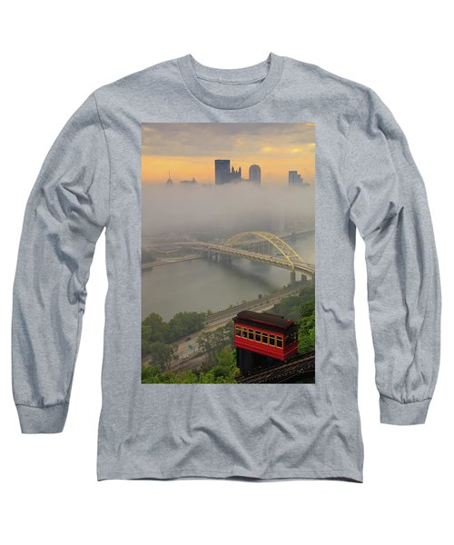 Touch Of Fog  Long Sleeve T-Shirt