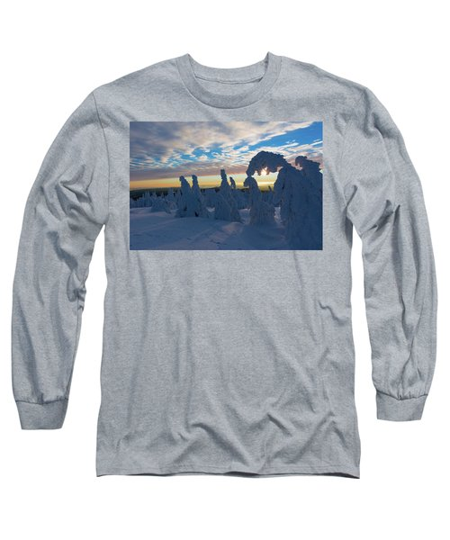 Touched From The Winter Sun Long Sleeve T-Shirt by Andreas Levi