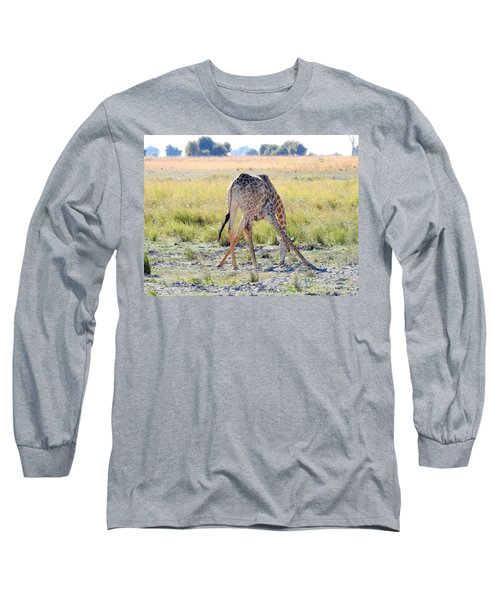 Long Sleeve T-Shirt featuring the photograph Tough Job by Betty-Anne McDonald