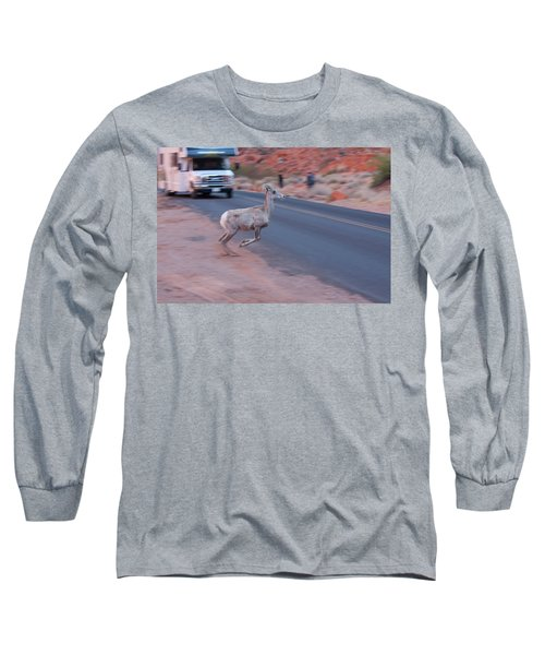 Tourists Intrusion In Nature Long Sleeve T-Shirt