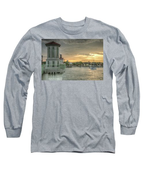 Tower Sunset Long Sleeve T-Shirt