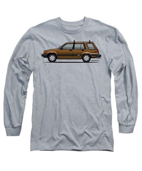 Toyota Tercel Sr5 4wd Wagon Al25 Bronze Long Sleeve T-Shirt