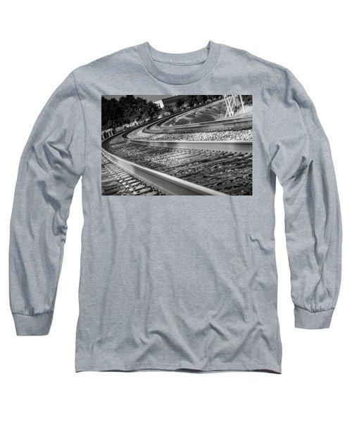 Tracks Through Historic Buford Long Sleeve T-Shirt