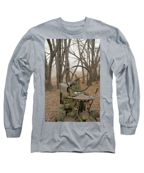 Tractor Morning Long Sleeve T-Shirt