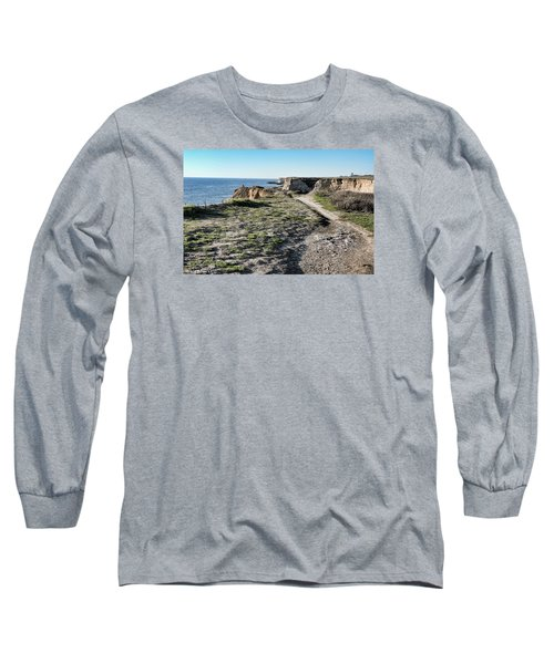 Trail On The Cliffs Long Sleeve T-Shirt