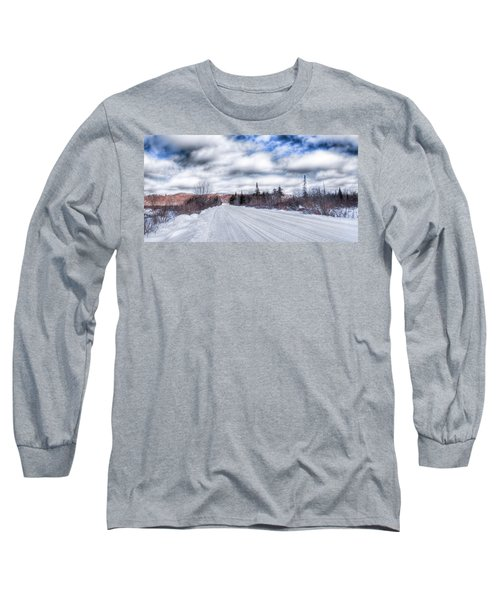 Trail One In Old Forge 2 Long Sleeve T-Shirt
