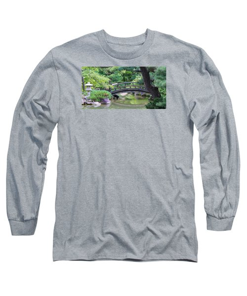 Tranqility Long Sleeve T-Shirt by Bruce Bley