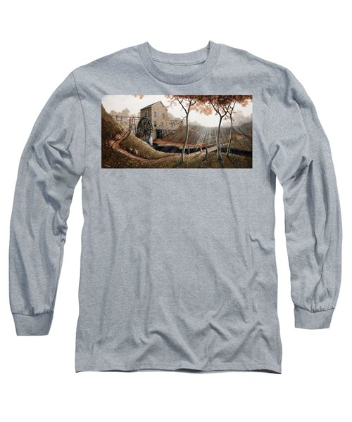 Tranquility Long Sleeve T-Shirt by Duane R Probus