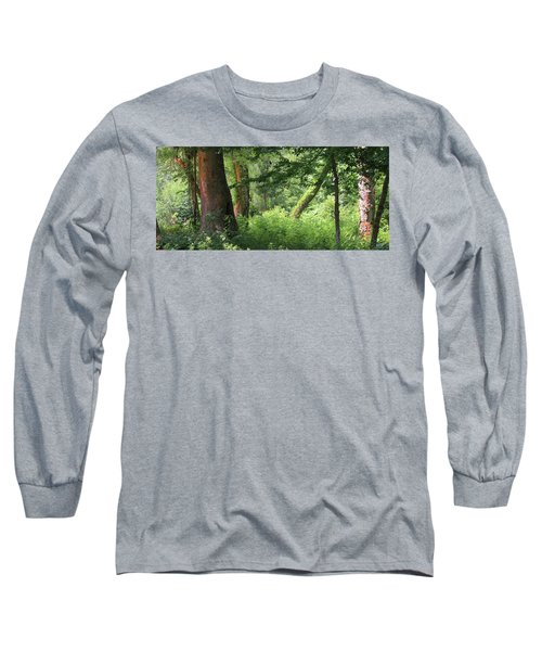 Tranquility Long Sleeve T-Shirt by Roena King