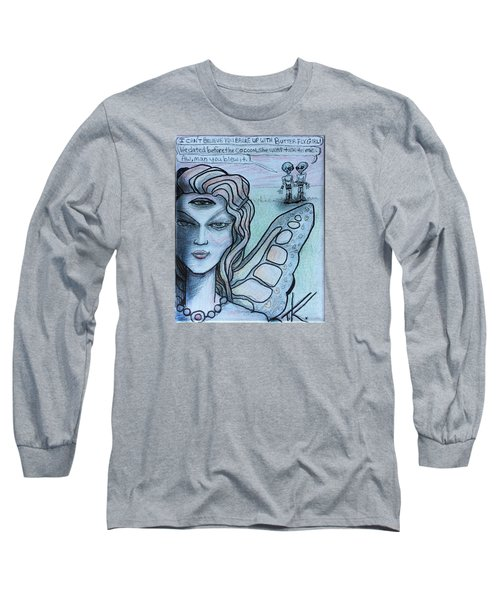 Transformation Long Sleeve T-Shirt by Similar Alien