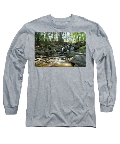 Long Sleeve T-Shirt featuring the photograph Trap Falls Spring 1 by Brian Hale