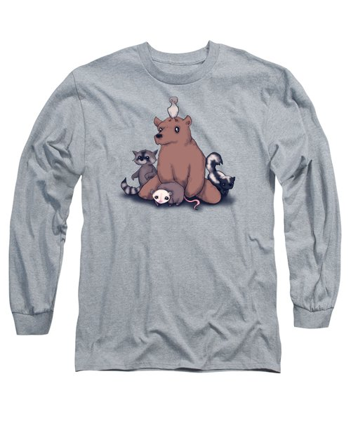 Trash Animals  Long Sleeve T-Shirt