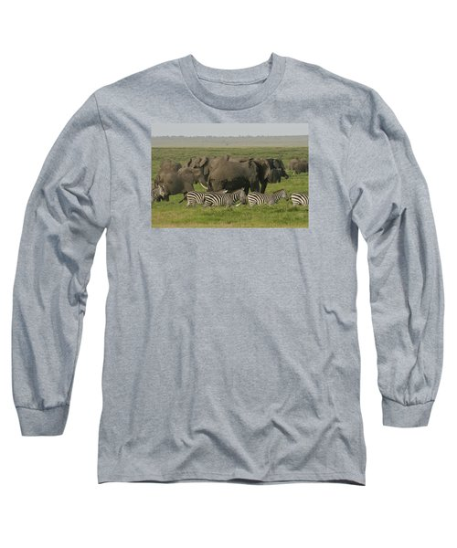 Long Sleeve T-Shirt featuring the photograph Travelling Companions by Gary Hall